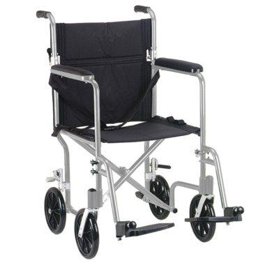 Special Offers - Drive Medical FW17SL Fly-Weight Transport Chair 17 Inch Silver - In stock & Free Shipping. You can save more money! Check It (May 01 2016 at 04:52PM) >> http://bathroomvanitiesusa.net/drive-medical-fw17sl-fly-weight-transport-chair-17-inch-silver/