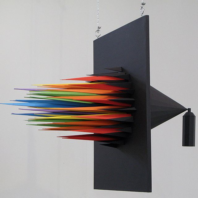 And the particles align in colored daggers and the people run in fear... :: Spray Can by Julien Vallée ::