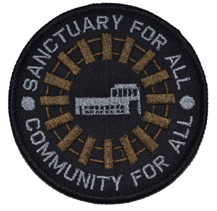 Those Who Arrive Survive Terminus Walking Dead Parody - 3 inch Round Patch - Tactical Gear Junkie