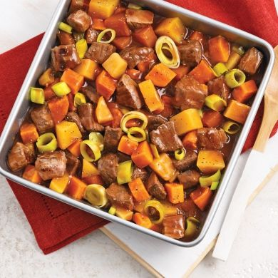 Cubes de boeuf aux légumes faciles à faire - Recettes - Cuisine et nutrition - Pratico Pratique