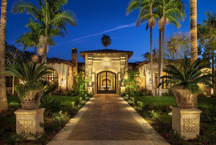 $15.9 Million Newly Built Mediterranean Mansion In Rancho Santa Fe, CA