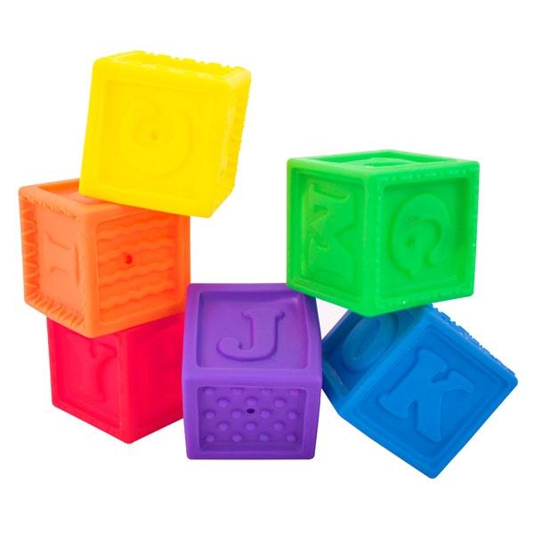 Bath time toy - 0+ Months - Squirt & Squeak Blocks