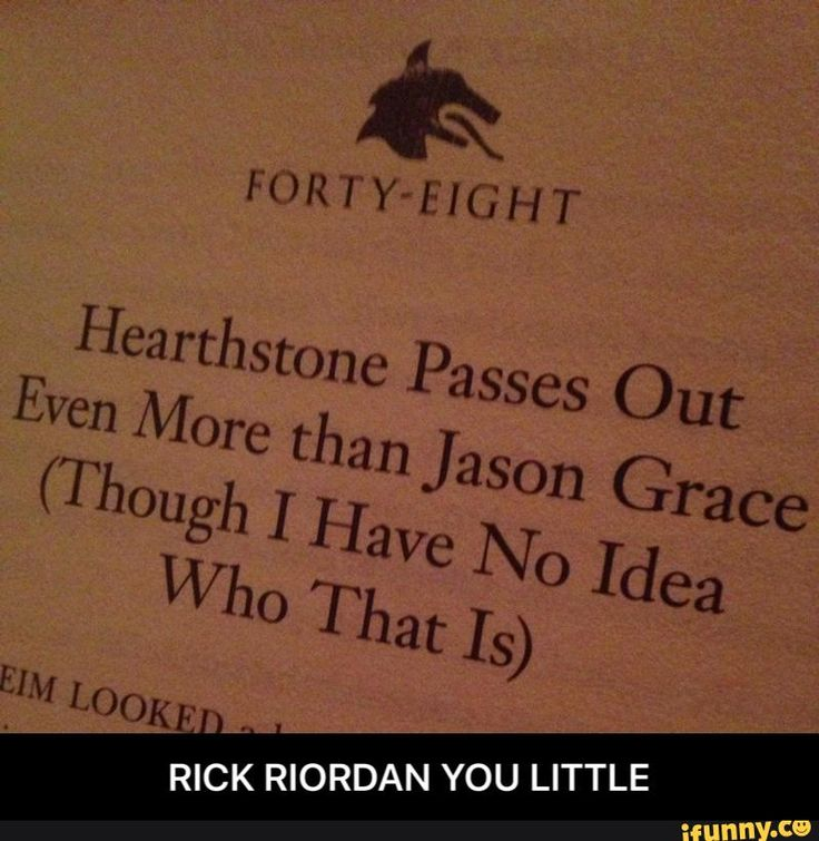 RICK RIORDAN YOU LITTLE ^this is my favorite thing. I complained hardcore about Jason's tendency