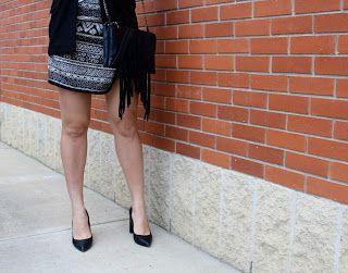 OOTD - Asymmetrical Wrap Skirt