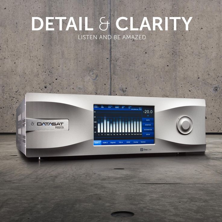 Datasat ultimate home cinema audio solutions