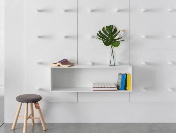 Dots bookshelf by Aris Architects for Polarislife