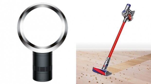 Win: Dyson Cool Fan and V6 Absolute   Steven and Chris   Enter for your chance to win the Dyson Cool Air fan and Dyson V6 Absolute cordless vacuum.