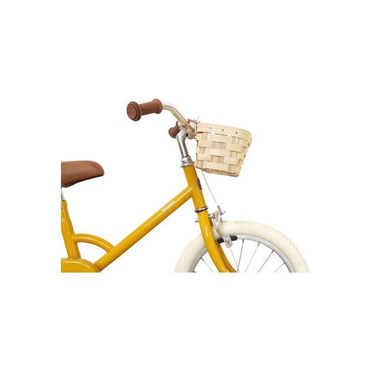Kids Bike Basket, Natural