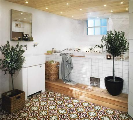 If we ever make another bathroom, I want tiles like these