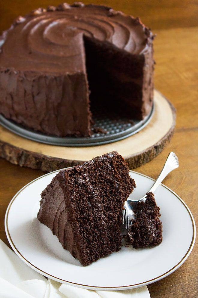 Devilish Chocolate Cake This Is The Best Chocolate Cake I Ever Made Moist Chocolate Cake Wit Amazing Chocolate Cake Recipe Moist Cake Recipe Choco Moist Cake