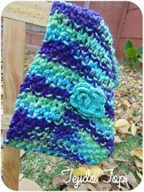 Cuello de niña a crochet / Crochet girl scarf  Visit www.facebook.com/hilaria.hechoamano pedidos y consultas hilaria.hechoamano@gmail.com