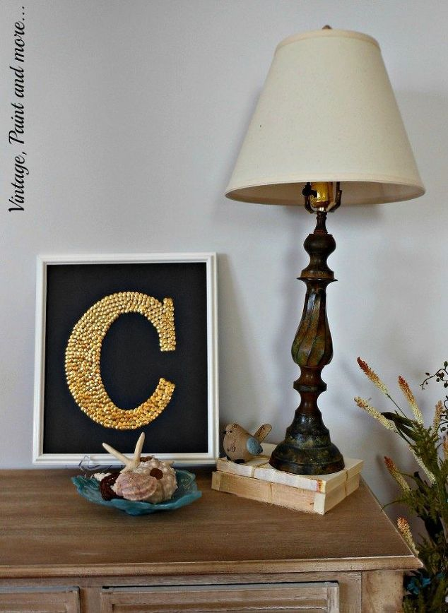 diy monogram wall art, crafts, how to, wall decor