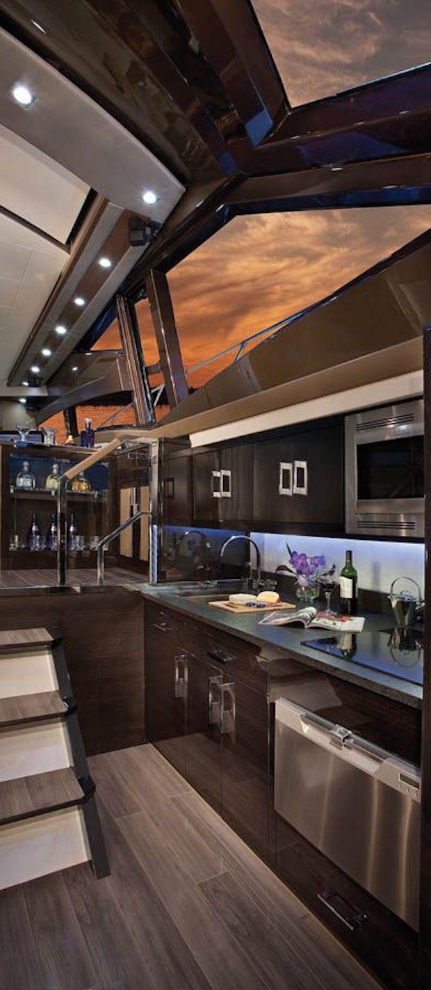Yacht Interior ~ MISS MILLIONAIRESS YACHT