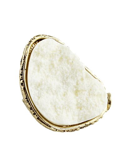 Hot-sale Individual Crystal Beige Ring 8.93