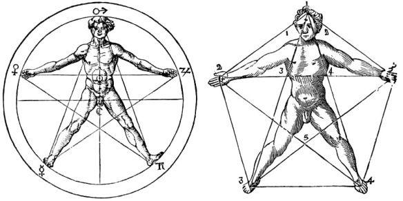 pentagono-pentagramma-uomo