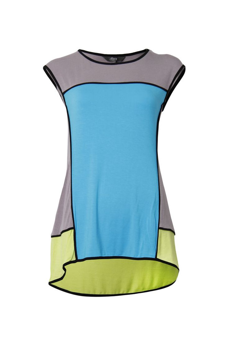 Short Sleeve Colourblock Tee $59