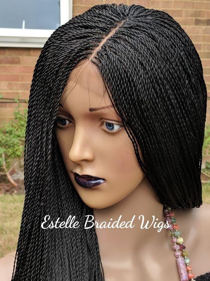 Surprising Braided Wig Micro Twist Braids Lace Closure Million Braids Wig Schematic Wiring Diagrams Amerangerunnerswayorg