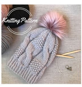 Knitting Pattern Kyria Hat Women's beanie