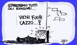 Evasore totale scoperto dalla guardia di finanza del comando di Vercelli. Viaggia su una Ferrari 430 ma risulta nullatenente.