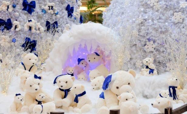Decoración+navideña+con+ositos