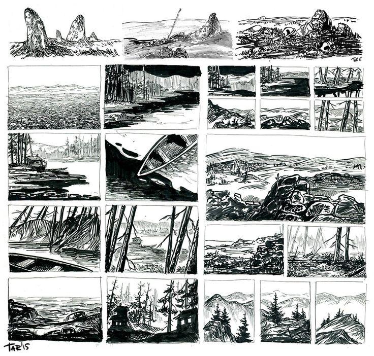 Пленэры и наброски – 18 фотографий