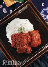 Nasi Itik Gambut (Red Spicy Duck with Rice)