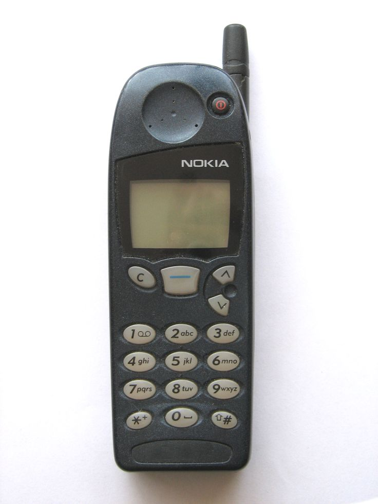 ...if you had a cell phone it was really just a cordless phone that you could play snake on