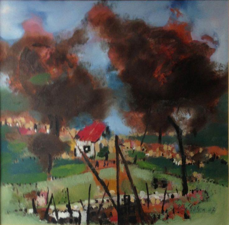 Zeki Şahin Yağlıboya Resim / Original Painting