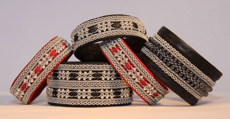 Nya tennarmband med pärlor | beaded tin thread (sami) bracelets