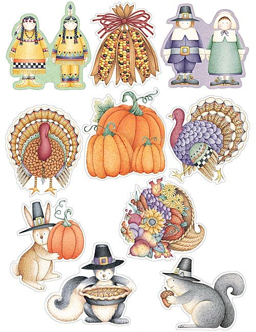 We Are Thankful Accents by Debbie Mumm