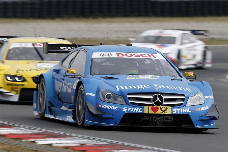Roberto Merhi, Junge Sterne Mercedes AMG C-Coupé