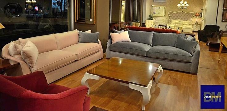 Caddebostan mağazamızdan Loft kanepeler ve Parma kare orta sehpa. Güncel ve şık. pinned with @PinvolveLove