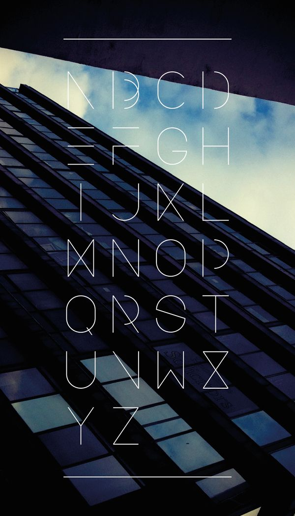 """""""Urban Font"""" by Design Division"""