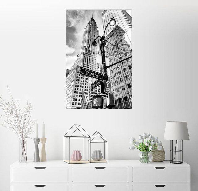 Wandbild – Sascha Kilmer »Wolkenkratzer in New York – Chrysler Building…« #Products