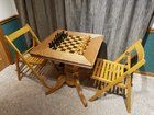 I built a chess table for my office