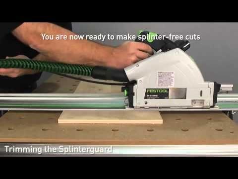 My husband the tool model-Festool MFT/3 Portable Workbench - Setup and Applications