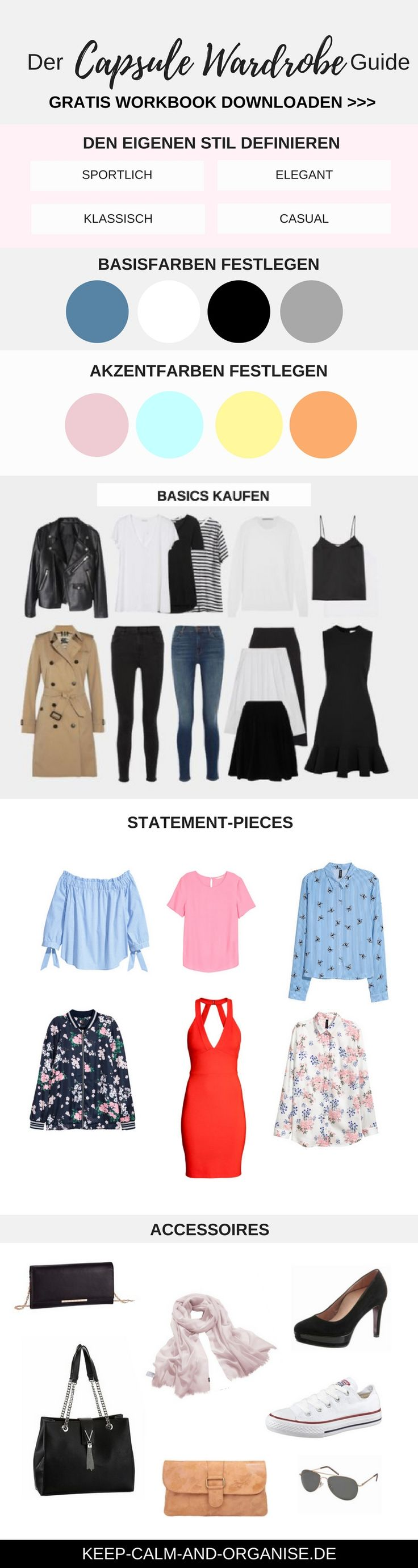 Vielleicht kommt auch dir dieses lästige Problem bekannt vor: Dein Kleiderschrank platzt zwar fast aus allen Nähten, aber du hast trotzdem nichts zum Anziehen.Als ich das erste Mal von derCapsule Wardrobehörte, war ich begeistert: Das ist es! Eine minimalistische Garderobe mit wenigen ausgewählten Kleidungsstücken, die sich untereinander zu möglichst vielen verschiedenen Outfits kombinieren lassen. Capsule …