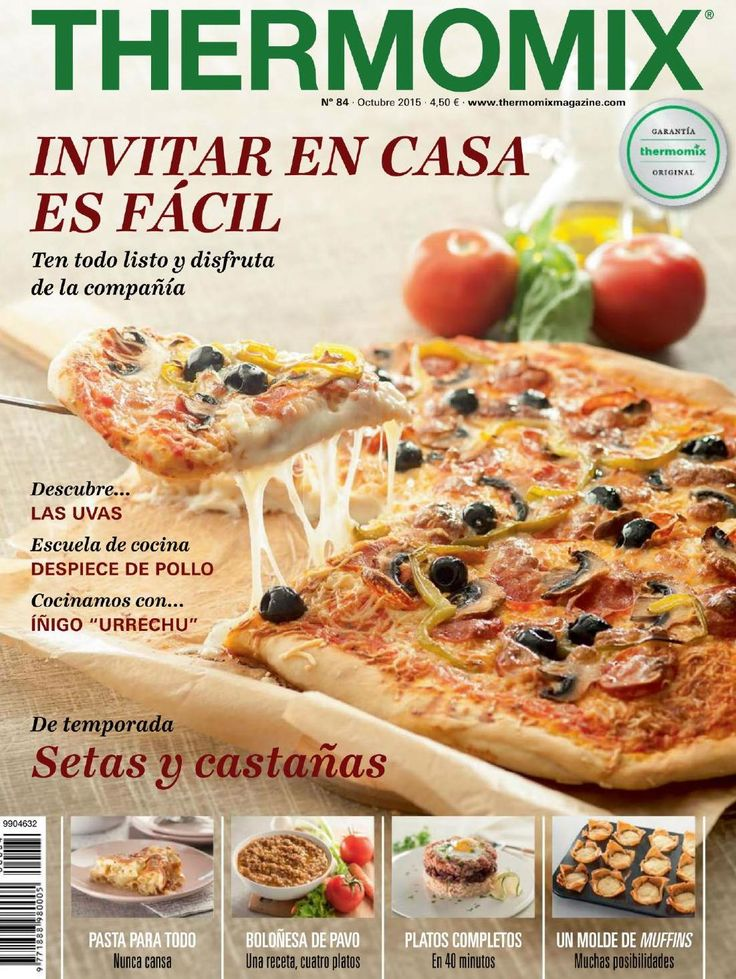 Revista thermomix n⺠84 octubre 2015 by argent