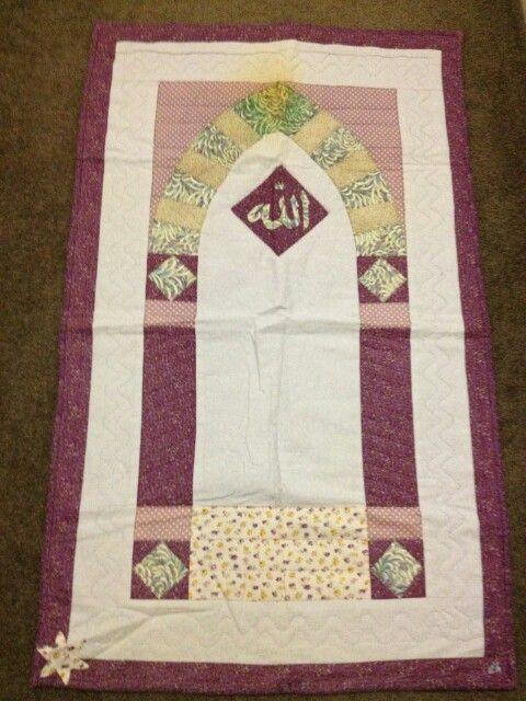 Praymat #patchwork #sajadah #dhitahandmades
