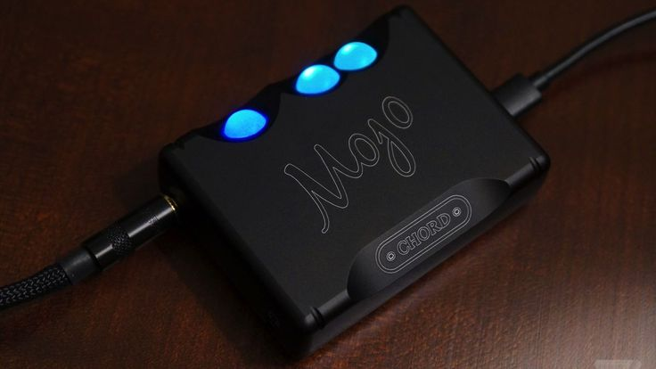 The Chord Mojo turns good headphones into great ones