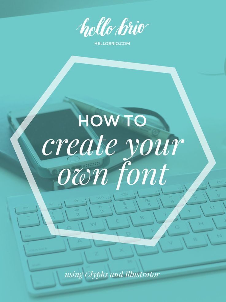 Have you always wanted to learn how to make your own font? Creating a font is easier than you think. You can learn how to create a font by…