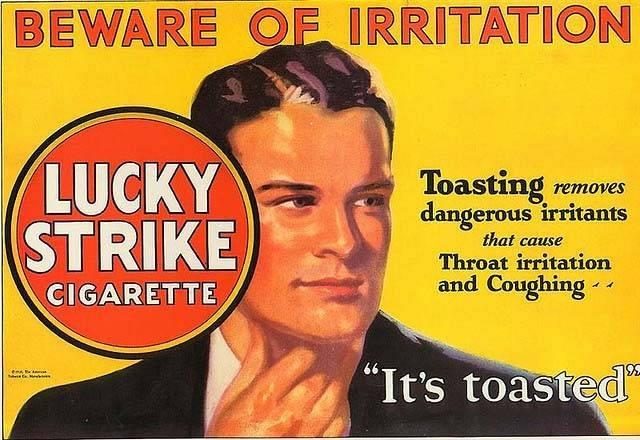 Lucky strike advertising