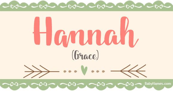 All about the name Hannah: Meaning, origin, and popularity of Hannah, including names like Hannah and baby name advice from the most popular baby names site online. What does Hannah mean?