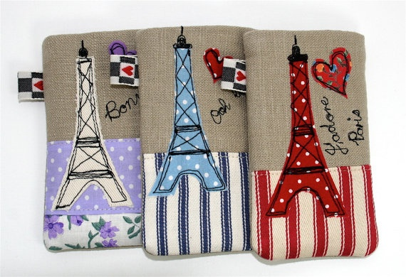 iPhone Cover iPod Cover Paris Eiffel Tower  by modernandvintage, £10.00  DIY it?