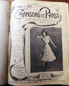 Les chansons de Paris N°1 à 26 (1903) Journal illustré hebdomadaire des concerts…