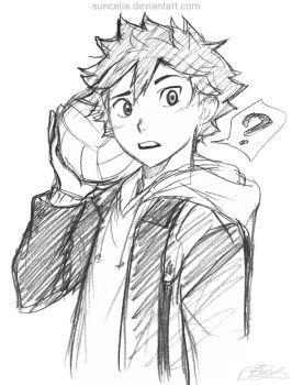 Hinata Sketch by Suncelia