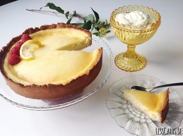 Recept: Citronpaj LCHF