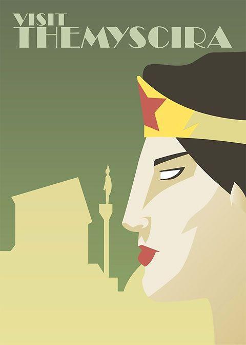 Superheroes-hometown-Wonderwoman Dave Ault