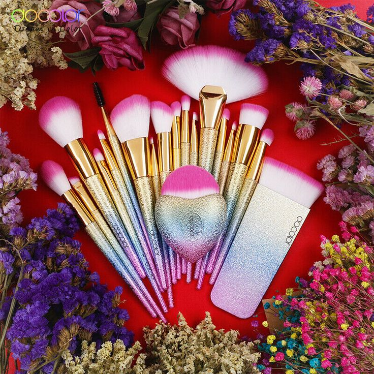 Docolor 19PCS Fantasy Brushes Collection Beauty Make Up