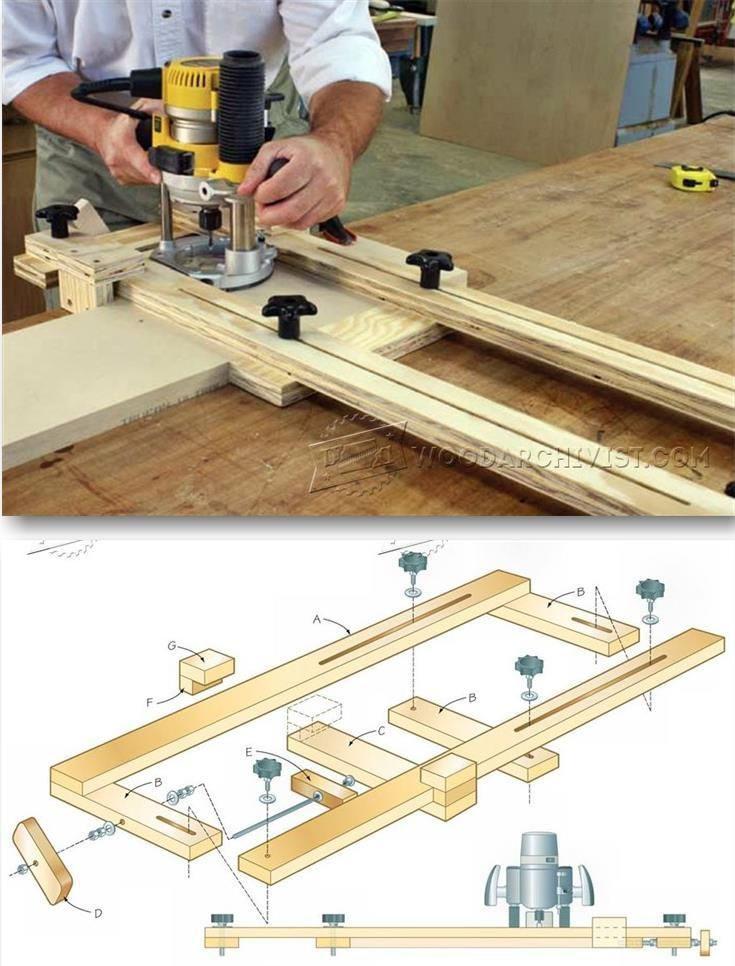 Router Dado Jig Plans Joinery Tips Jigs And Techniques